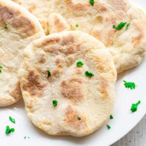 vegan flatbread