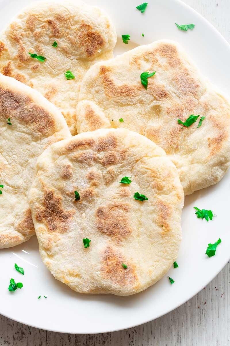 no yeast flatbread