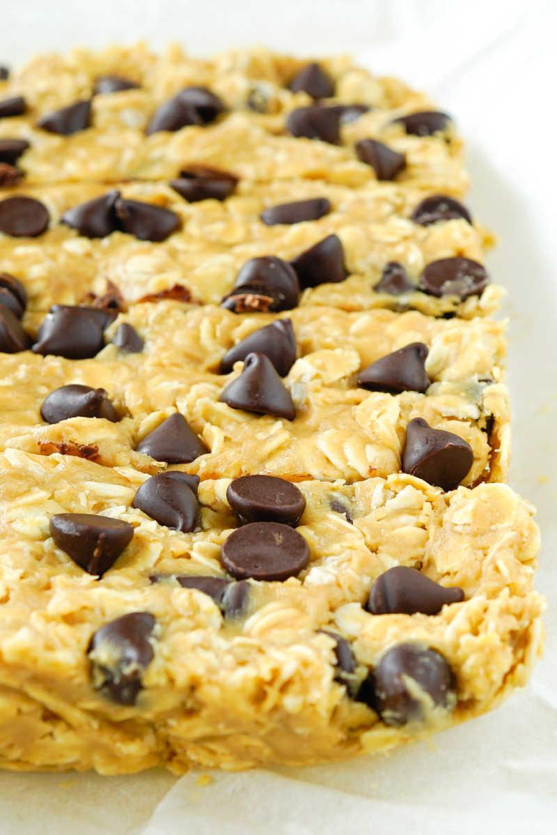 3 ingredient granola bars